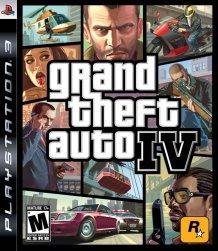 GTA IV Box Art
