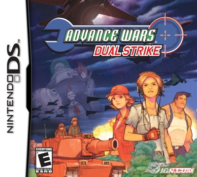 Advance Wars DS Box Art