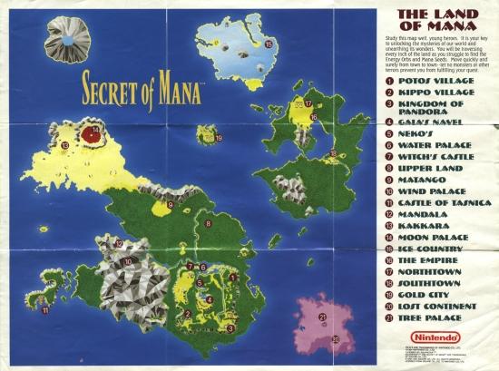 Mana Map