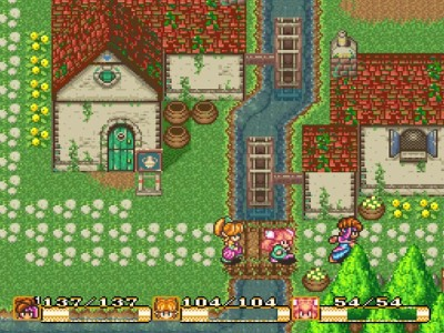 Secret Of Mana Village