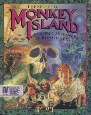 Monkey Island Box Art