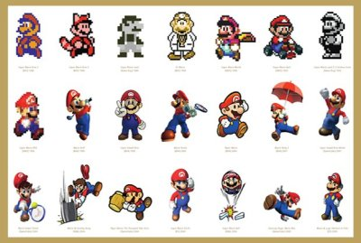 Mario Through The Ages