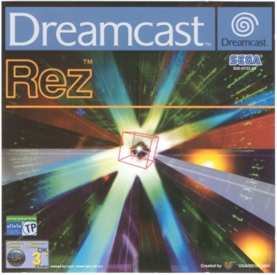 Rez Box Art