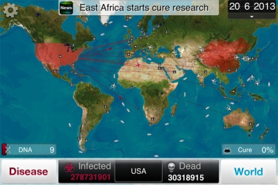 Plague Inc Map