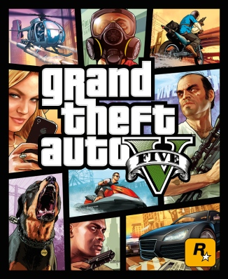 GTA Box Art